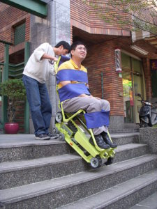 履帶式爬梯機